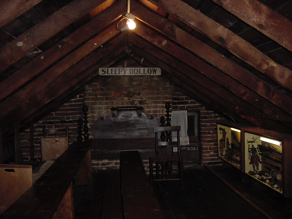 Jenny Wade House Basement And Farnsworth Attic